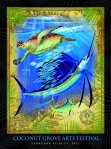 Guy Harvey poster Coconut Grove Arts Festival