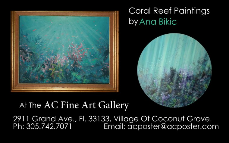 Coral Reef Paintings By Ana Bikic