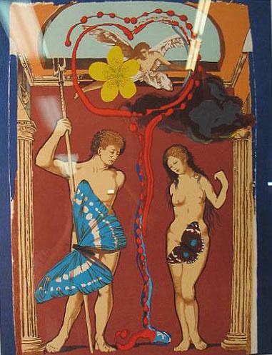 """Salvador Dali """"Triumph of Love Le Triomphe"""""""