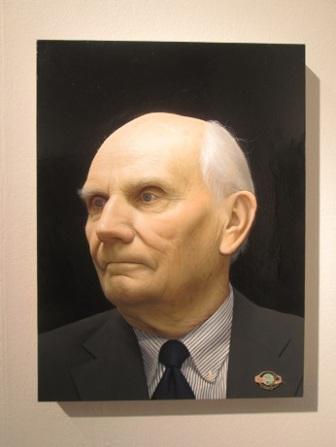 Bryan Drury 2011 portrait of Jake Garn