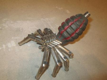 Grenade Spider Art