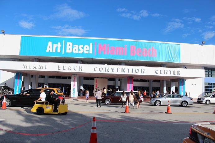 Entrance to Miami Beach 2012 at the Miami Beach, Convention Center