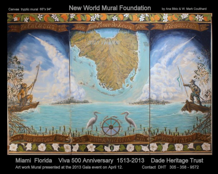Viva 500 New World 1513 Florida celebrates 500 years