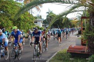 Dolphins Cycle Challenge UM Sylvester Cancer Research 2013